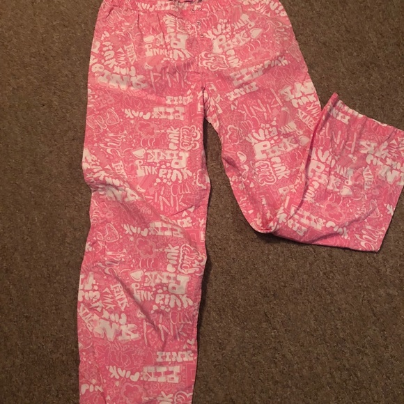 PINK Victoria's Secret Other - Victoria's Secret Pink PJ Pants SZ LARGE NWOT